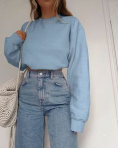Indie Outfits, Retro Outfits, Vintage Outfits, Grunge Outfits, Blue Outfits, Cute Comfy Outfits, Stylish Outfits, Cool Outfits, Classy Outfits