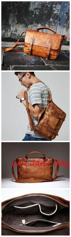 Leather Briefcase,Handmade Bag,Popular Type GLT033