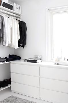 black and white closet TheyAllHateUs