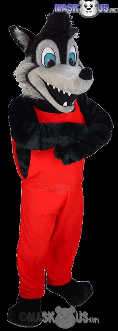 Big Bad Wolf Mascot Costume T0107 is part of our Animal Mascots Forest Animals Thermo-Lite line. The mascot costume head is constructed out of vaccum-formed ... & How to Create an Affordable Mascot Head | toys | Pinterest | Hello ...
