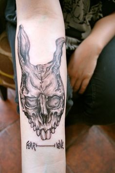 awesome Donnie Darko tattoo