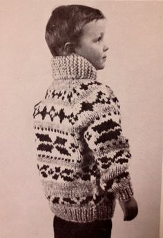 106df5780 White Buffalo Wool Child s Cowichan Style Sweater Knitting Pattern  8-C -  PDF - Sizes S-M-L Plus Bonus Blank Charts Childs Toques B2G1