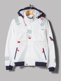 Polo Ralph Lauren Southwold Sailing Jacket (White / Navy)