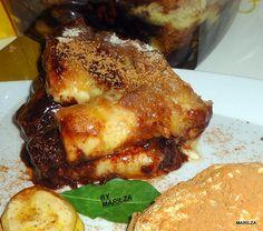 Torta Fácil de Banana com Chocolate - Culinária-Receitas - Mauro Rebelo