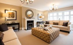 Visit Woodford Garden Village, a stunning new Redrow development in Cheshire. Find your dream home today! Living Room Designs, Living Room Decor, Bedroom Decor, Living Rooms, Home Fireplace, Fireplace Ideas, Fireplaces, Small Lounge, Bungalow Renovation