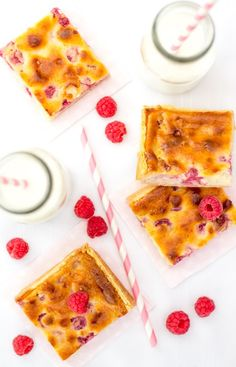 Raspberry Tart Bars