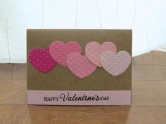 Handcrafted Cards from My Pretty Creativity  www.facebook.com/MyPrettyCreativity #valentines #love #hearts #dots #prettyinpink #greetingcards #handmade #handcrafted #cards