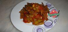 domatesli taze fasulye #yemektarifleri #food #recipes