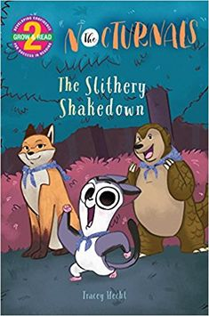 Nocturnals: The Slithery Shakedown by Tracey Hecht (ASKING QUESTIONS, BACKGROUND KNOWLEDGE, CLASSROOM LIBRARY BUY, CONFLICT, FANTASY, PICTURE BOOK, READ ALOUD)
