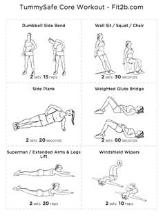 TummySafe Core Workout - Fit2B Studio