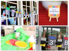 Invite and Delight: An Art Party - Ella's 3rd Birthday!