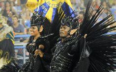 Brazilian Carnival - Marquinhos e Giovanna, o primeiro casal de mestre-sala e porta-bandeira Unidos da Tijuca