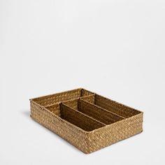 runder korb mit stoffauskleidung zara home deutschland renovation pinterest k rbchen. Black Bedroom Furniture Sets. Home Design Ideas
