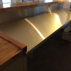 Custom Stainless Steel Bar Tops