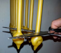 Kimberly's Heirloom Crafts: Making Hand Dipped Beeswax Candles