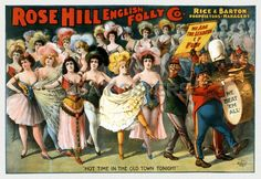 Rose Hill English Folly Theatrical Poster