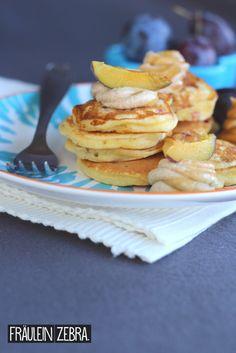 Zwetschgen Pancakes | Plum Pancakes