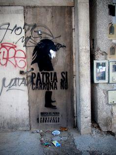 Patria si, carroña no. 2014.