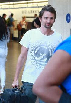 MUSE : Matt Bellamy _02 September 2013 - LAX airport, Los Angeles, California