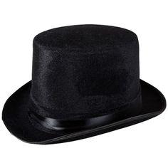 1d8dfdabc7b Top Hat Black Velour. Black Top HatFedorasCarnival Birthday PartiesWriterPs4 FormalHatsHandmadeCostumes