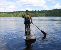 kawarthaNOW publisher and keen kayaker Jeannine Taylor takes on the sport of Stand Up Paddling (SUP) - coming soon to a Kawartha waterway near you Trophy Fish, Peterborough, Under The Stars, Life Is An Adventure, Listening To Music, Stand Up, Kayaking, The Incredibles, Sports