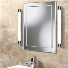 HiB Skylite LED Mirror Light 23300 23400 The Skylite LED mirror light has a unique style to give an amazing classic look to your overall bathroom. Mirror With Led Lights, Mirror With Shelf, Led Mirror, Shower Lighting, Bathroom Lighting, Loft Bathroom, Bathroom Stuff, Bathroom Ideas, Bathroom Installation