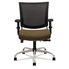 NEW - Graphic Medium Posture Mesh Back Chair, Tungsten Frame/Base, Barley Fabric Seat - 2738MBTUS103 by Global Industries. $423.84. Casual style and contemporary scale with ergonomic design. Unique mechanism that places pivot point directly below the operator's hips allowing both user and chair back to pivot from the same point in a natural motion. Euro-style back is contoured side to side for comfort and top to bottom, integrating a lumbar support. Waterfall seat edge ...