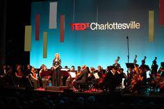 Projection Mapping & Lighting by The AV Company (TEDxCharlottesville Event 2013 - Paramount Theater, Charlottesville VA)