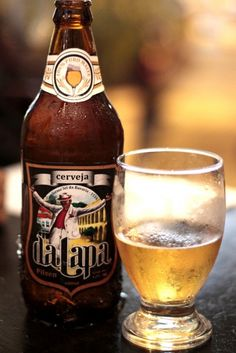 Cerveja Da Lapa, estilo Standard American Lager, produzida por  Cervejaria Caseira, Brasil. 4.2% ABV de álcool.