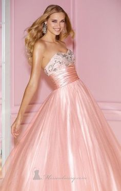 Poly Chiffon Gown by Alyce Prom 6241