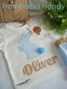 CONJUNTO PERSONALIZADO: Que llegue ya la primavera!!! | FRAMBUESA HAPPY Applique Ideas, Onesies, Kids, Shirts, Clothes, Appliques, Gift Shops, Raspberry, Personalized Gifts