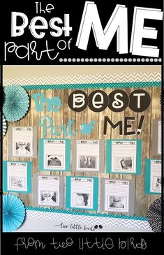 The Best Part of Me: writing activity to accompany the beloved book. Student pages and bulletin board pieces. Writing Bulletin Boards, Classroom Bulletin Boards, Classroom Posters, Classroom Themes, Classroom Organization, Preschool Bulletin, Writing Resources, Teaching Writing, Writing Activities