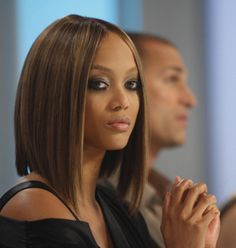 Tyra Banks holy amazing bob