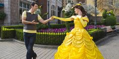 A former Belle at Disney World talks about auditioning for the role, learning to love her character, and fending off creepy dads.
