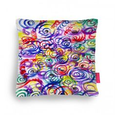Competition, Curly, Cushions, Color, Art, Throw Pillows, Art Background, Toss Pillows, Pillows