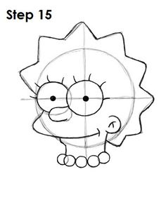 How to Draw Lisa Simpson Simpsons Tattoo, Simpsons Drawings, Easy Cartoon Drawings, Simpsons Art, Drawing Cartoon Characters, Art Drawings Sketches, Disney Drawings, Character Drawing, Easy Drawings