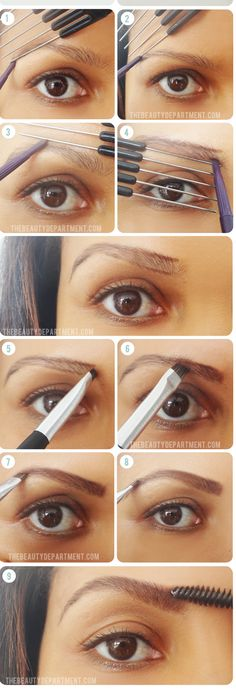 How thickened eyebrows?