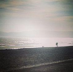 Remembering crisp, sunny autumnal walks on the beach #inspiration #beach #seaside #overexposed #photography