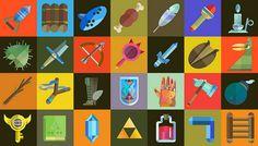 Zelda Items Created by Scott Palmer