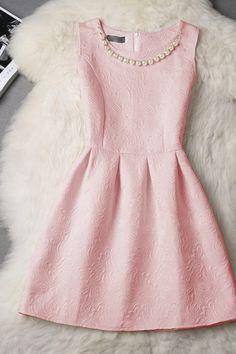 Slim round neck sleeveless dress princess AX51301ax