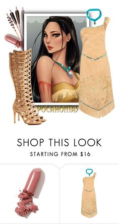 """""""Pocahontas   Disney"""" by izabellmaya ❤ liked on Polyvore featuring LAQA & Co., Disney, George and Vince Camuto"""