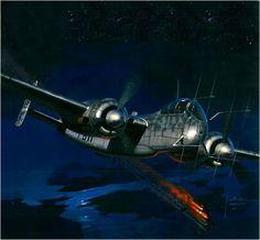 Heinkel He-219 A-0 Uhu, by Jaroslaw Wróbel.