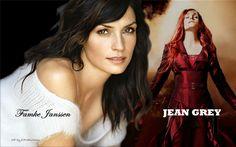 X-Men; Jean played by Famke Janssen. Dutch actress