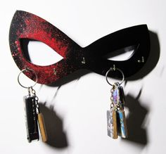 Harley Quinn Mask Key/Jewelry Hanger in stock by helloskywalker