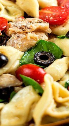 Chicken and Tortellini Pasta Salad