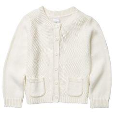 Girls' Knit Cardigan With Pockets