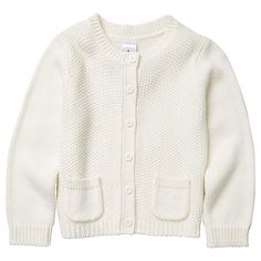 Girls' Knit Cardigan With Pockets