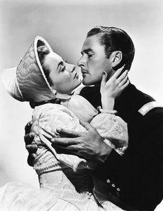 Olivia de Havilland and Errol Flynn in Charge of the Light Brigade
