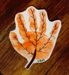 Fall Arts And Crafts, Autumn Crafts, Autumn Art, Autumn Theme, Daycare Crafts, Baby Crafts, Fun Crafts, Fall Crafts For Toddlers, Thanksgiving Crafts For Kids
