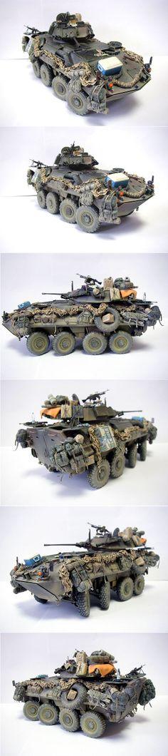LAV-25 1/35 Scale Model